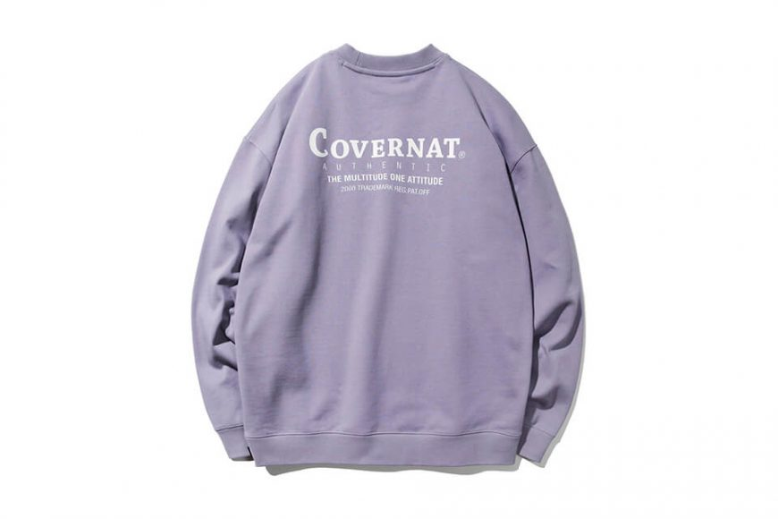 COVERNAT 20 FW Layout Logo Crewneck (16)