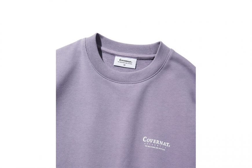 COVERNAT 20 FW Layout Logo Crewneck (17)