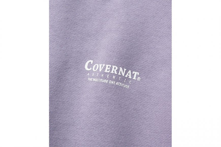 COVERNAT 20 FW Layout Logo Crewneck (18)