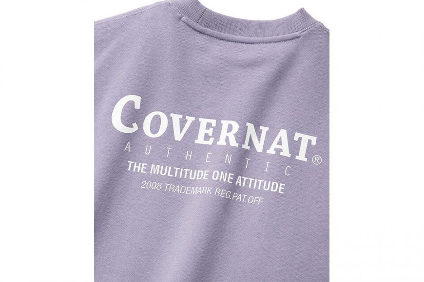 COVERNAT 20 FW Layout Logo Crewneck (20)
