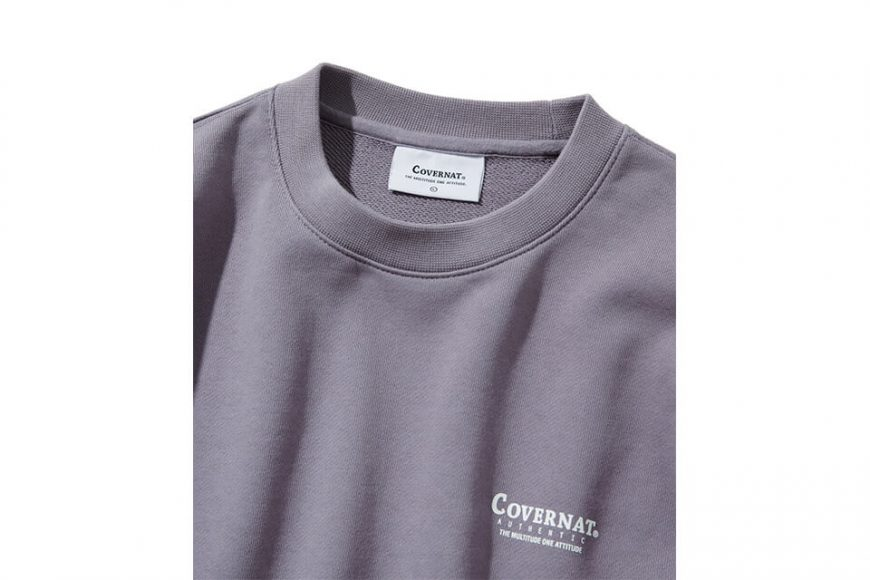 COVERNAT 20 FW Layout Logo Crewneck (3)
