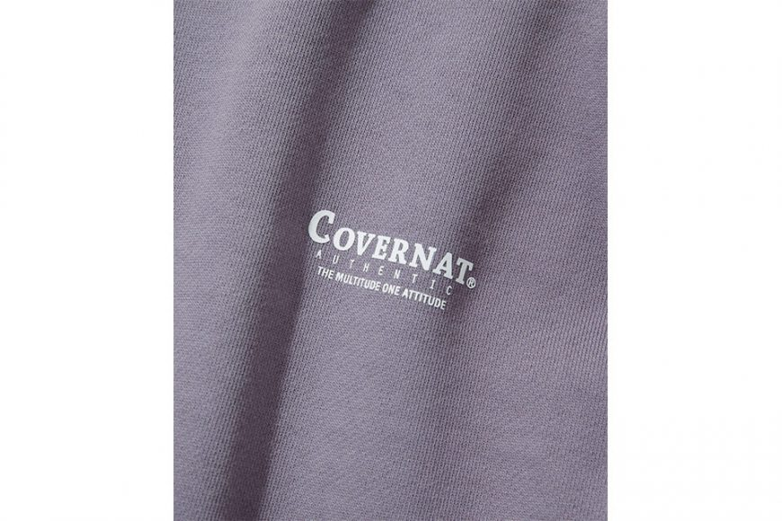 COVERNAT 20 FW Layout Logo Crewneck (4)