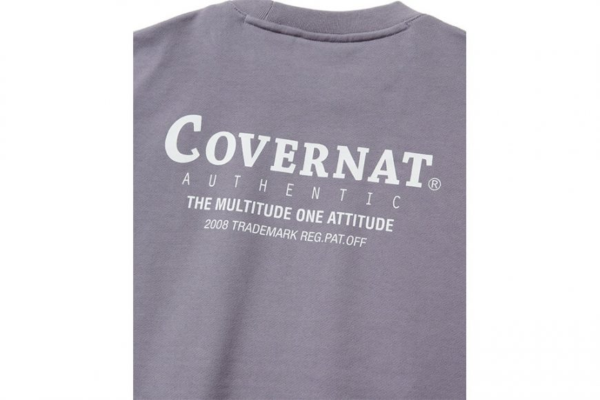 COVERNAT 20 FW Layout Logo Crewneck (6)