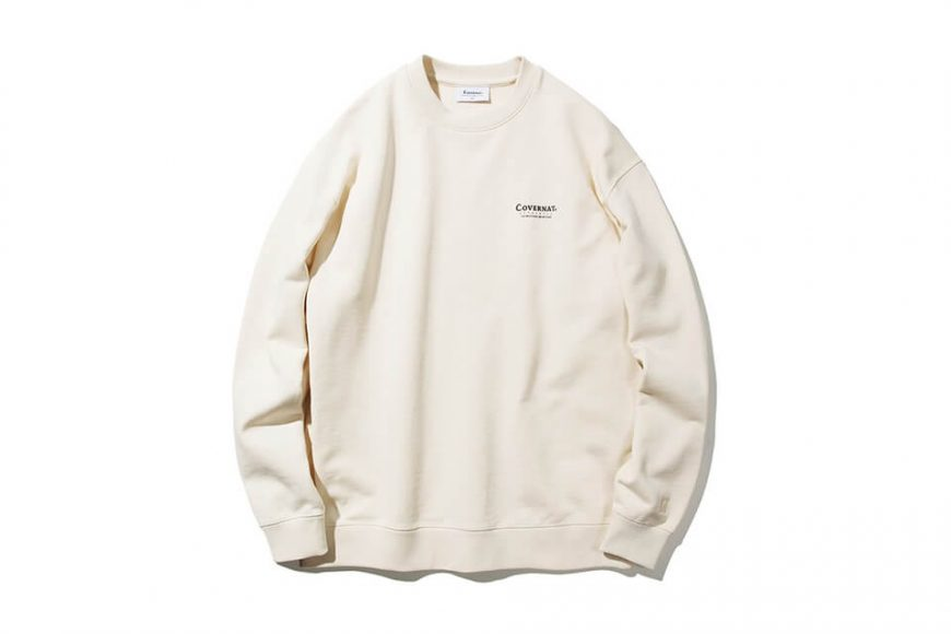 COVERNAT 20 FW Layout Logo Crewneck (8)