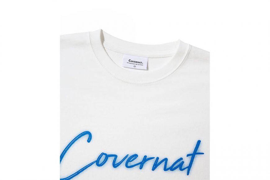 COVERNAT 20 FW Sign Logo Long Sleeve (3)