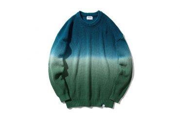 COVERNAT 20 FW Tie-Dyeing Knit Crewneck (1)
