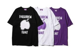 FORBIDDEN FRUIT® by AES 20 AW outer Logo T-Shirt (1)