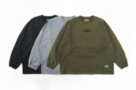PERSEVERE 20 AW Pigment-Dyed Oversize Sweatshirts (10)