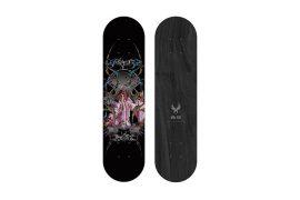 REMIX x 霹靂布袋戲 20 AW Remin Pili 鳳鳴玉鶠皇 Skateboard (1)
