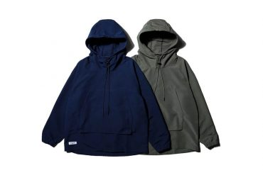 AES 20 AW Nylon Water Repellent Hoodie (1)