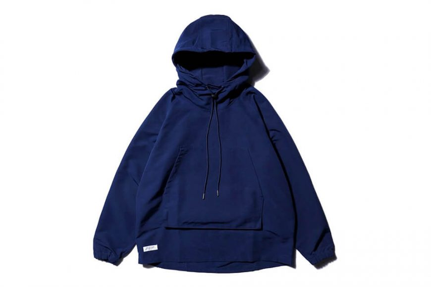 AES 20 AW Nylon Water Repellent Hoodie (2)