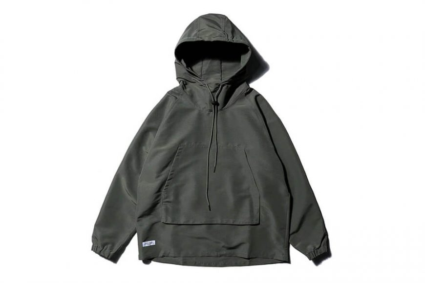 AES 20 AW Nylon Water Repellent Hoodie (4)