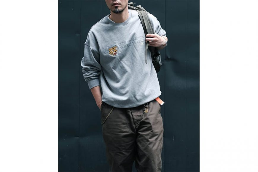 B-SIDE 20 AW Sweater 20-1 Tiger (6)