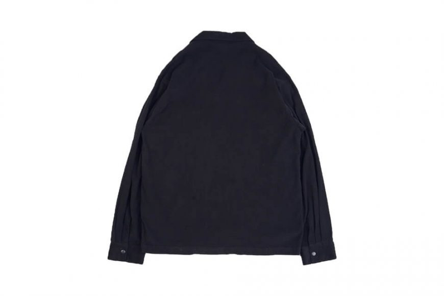NEXHYPE 20 FW Green Corduroy LS Shirt (2)
