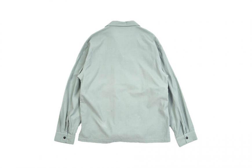 NEXHYPE 20 FW Green Corduroy LS Shirt (7)