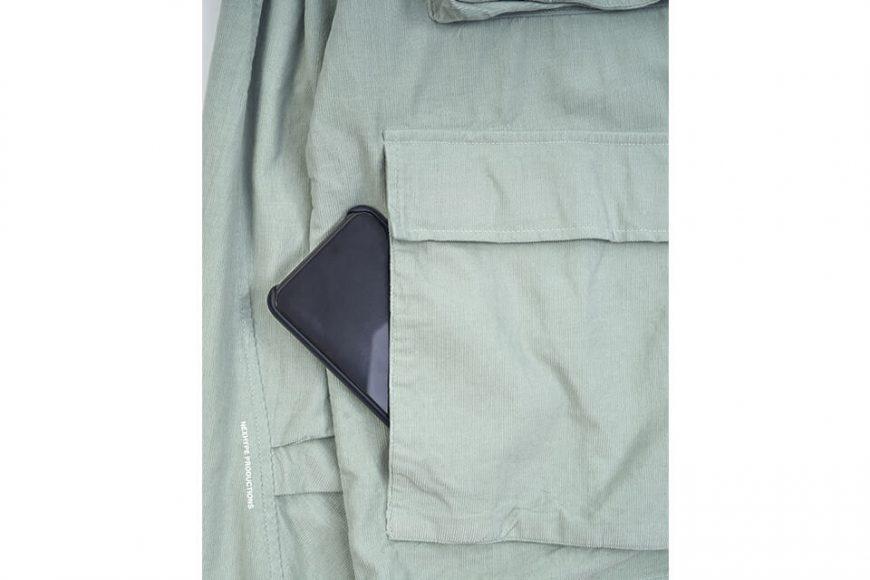 NEXHYPE 20 FW Green Corduroy LS Shirt (8)