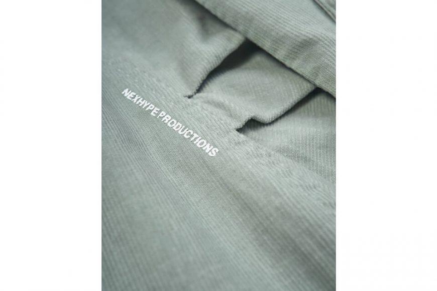 NEXHYPE 20 FW Green Corduroy LS Shirt (9)