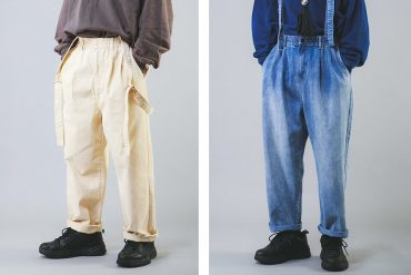NextMobRiot 20 AW OV Suspenders Wide-Pants (0)