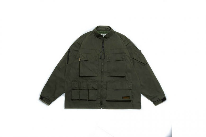 PERSEVERE 20 AW W. Utility Field Jacket (24)