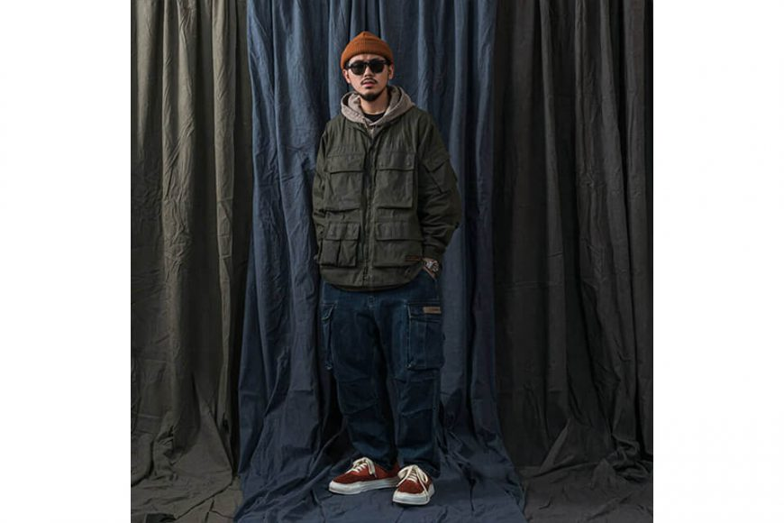 PERSEVERE 20 AW W. Utility Field Jacket (4)