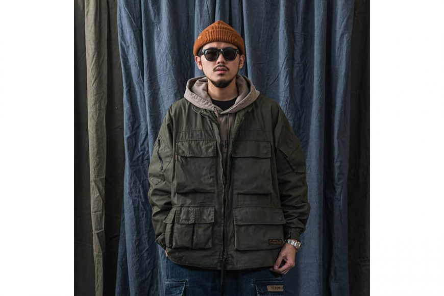PERSEVERE 20 AW W. Utility Field Jacket (6)