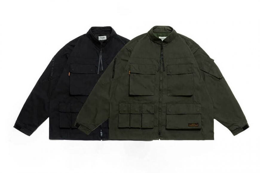PERSEVERE 20 AW W. Utility Field Jacket (7)