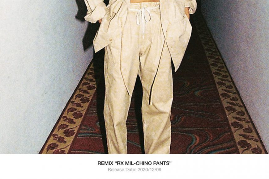 REMIX 20 AW RX Mil-Chino Pants (1)