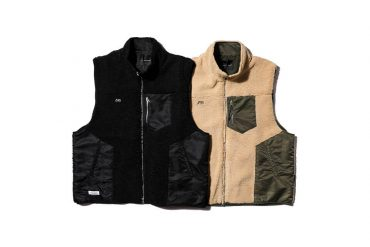 AES 20 AW Spliced Fleece Vest (1)