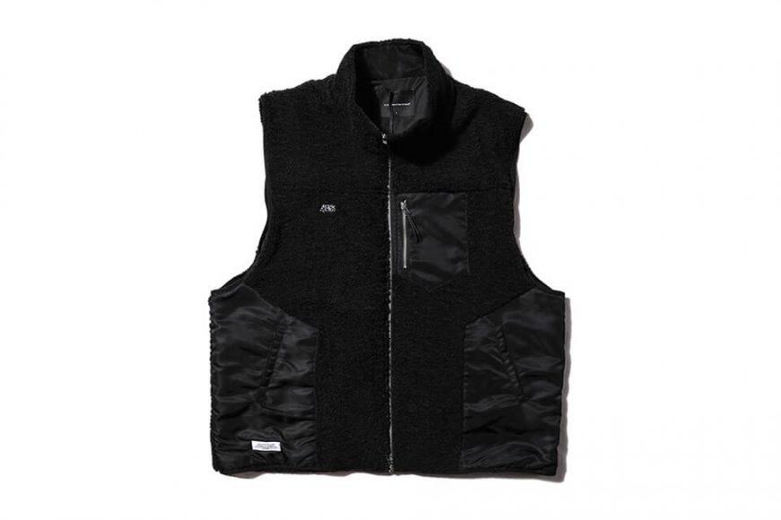 AES 20 AW Spliced Fleece Vest (2)