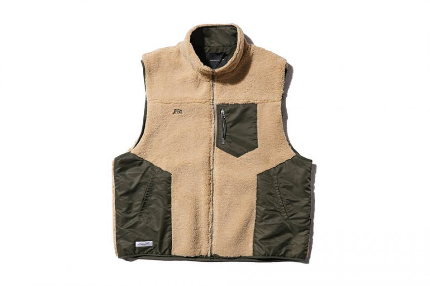 AES 20 AW Spliced Fleece Vest (3)