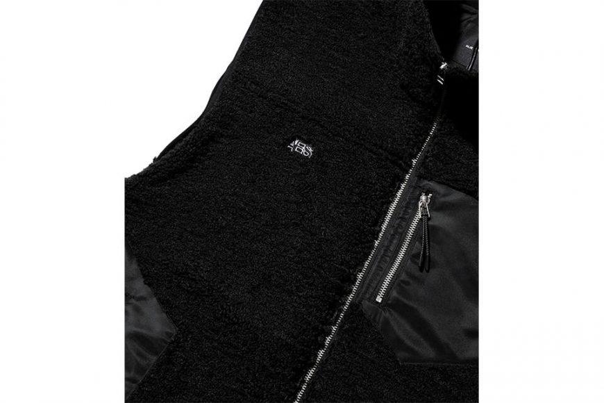 AES 20 AW Spliced Fleece Vest (4)
