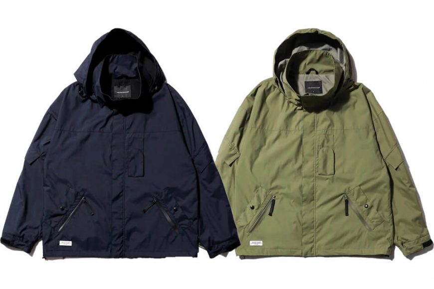 AES 20 AW Water Repellent Nylon JKT (0)