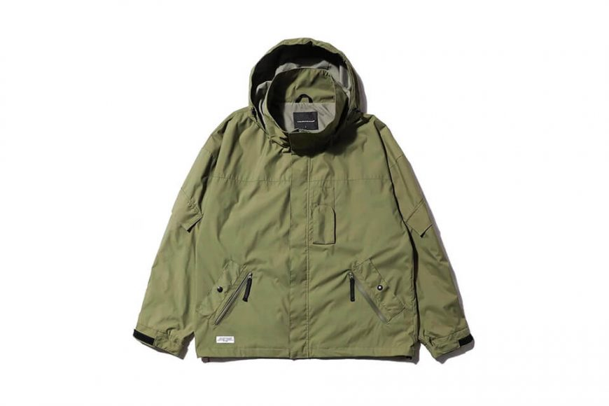 AES 20 AW Water Repellent Nylon JKT (10)