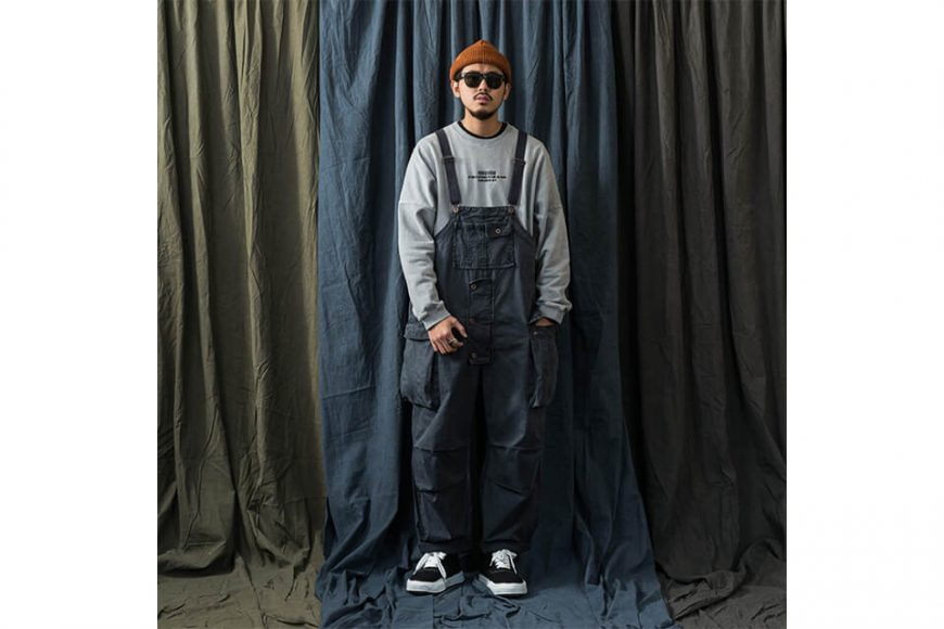 PERSEVERE 20 AW Soft Stone Washed Overall (1)