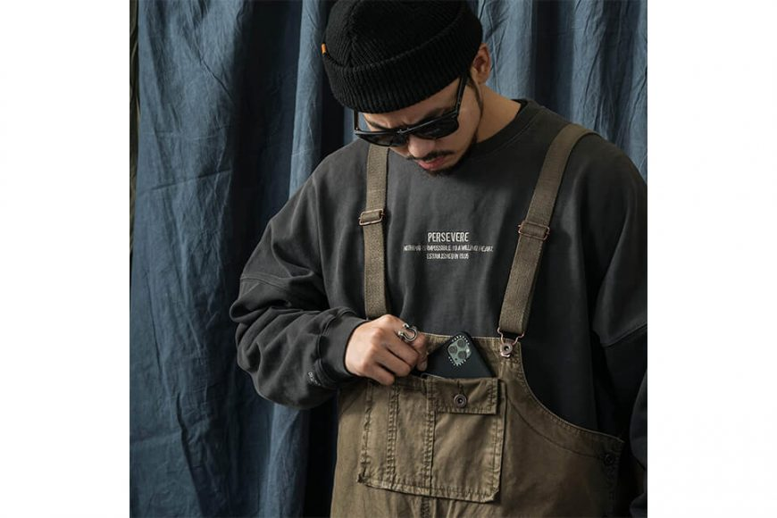 PERSEVERE 20 AW Soft Stone Washed Overall (10)