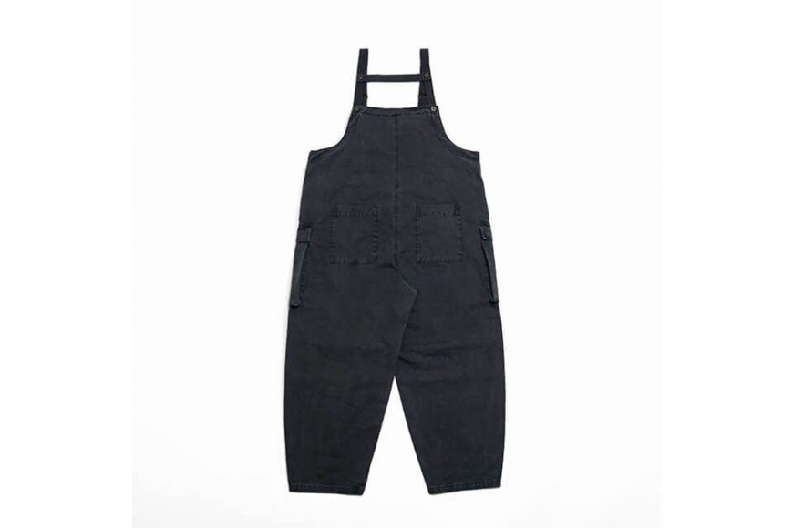 PERSEVERE 20 AW Soft Stone Washed Overall (13)