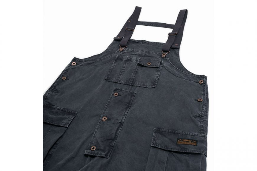 PERSEVERE 20 AW Soft Stone Washed Overall (14)