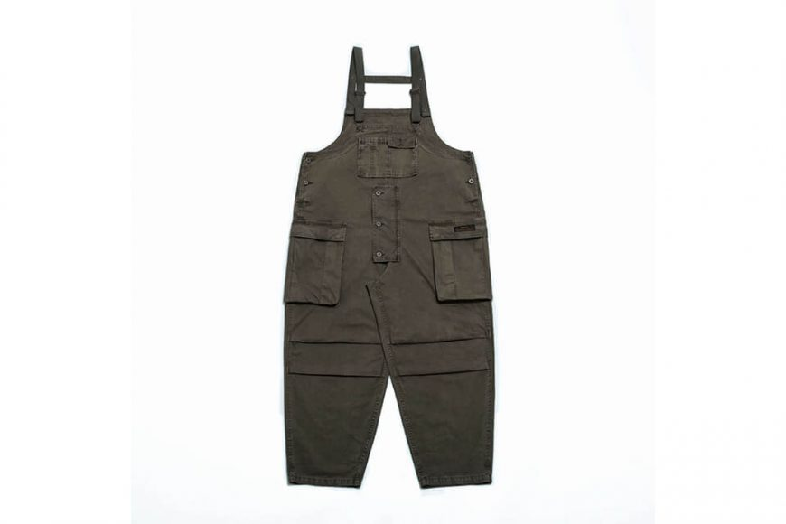 PERSEVERE 20 AW Soft Stone Washed Overall (25)