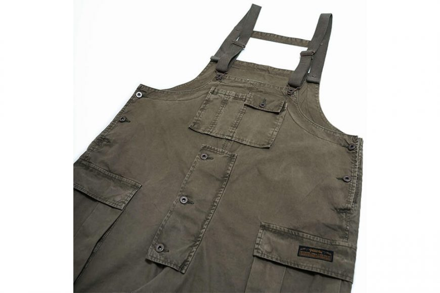 PERSEVERE 20 AW Soft Stone Washed Overall (27)