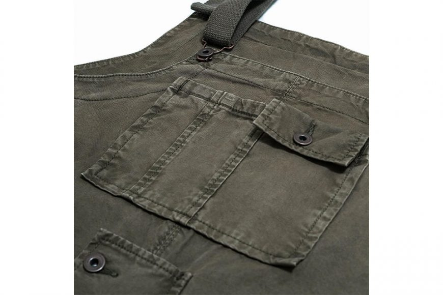 PERSEVERE 20 AW Soft Stone Washed Overall (29)