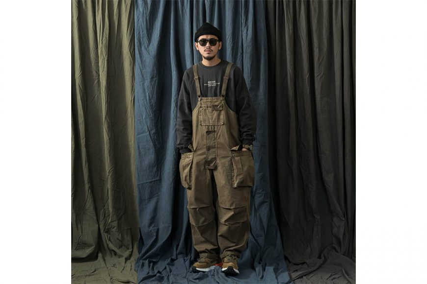 PERSEVERE 20 AW Soft Stone Washed Overall (6)