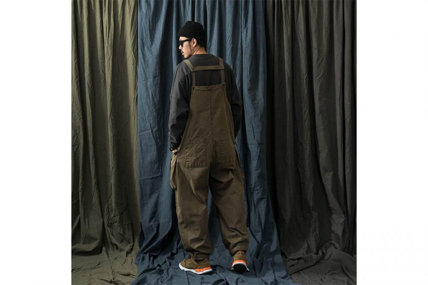 PERSEVERE 20 AW Soft Stone Washed Overall (7)