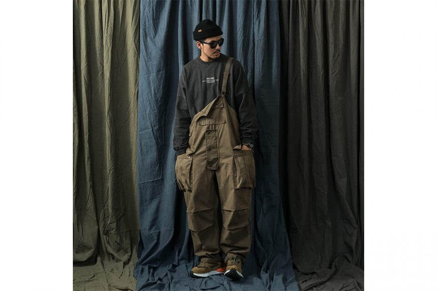 PERSEVERE 20 AW Soft Stone Washed Overall (8)