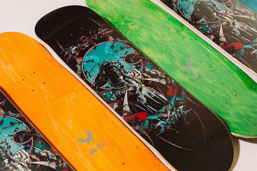 REMIX X 霹靂布袋戲 20 AW Pili 虎魁天虓皇 Skateboard (4)