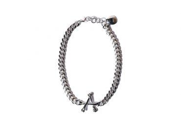 AES 20 AW Aline Bone 「A」 Necklace (1)