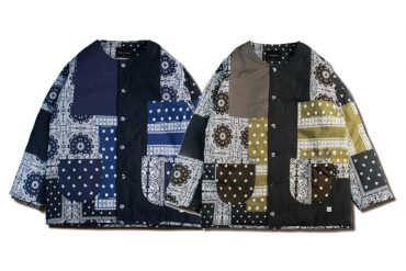 AES x REPUTATION 20 AW Paisley Patchwork - Liner Jacket (0)