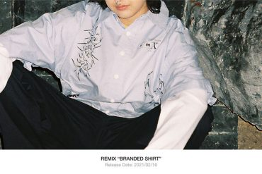 REMIX 20 AW Branded Shirt (1)