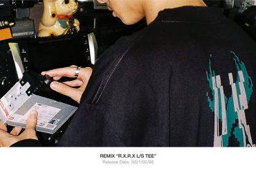 REMIX 20 AW R.X.R.X LS Tee (1)