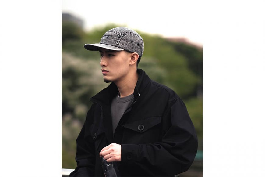 B-SIDE 21 SS Cap 21-1 Heavy Washed (1)