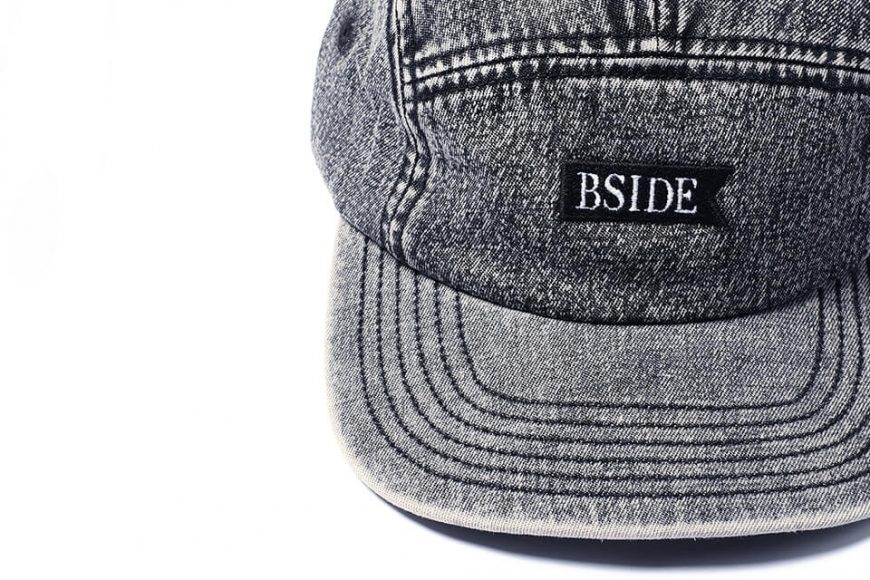 B-SIDE 21 SS Cap 21-1 Heavy Washed (5)